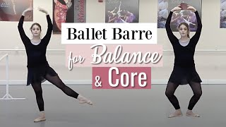 Ballet Barre Workout for Balance & Core