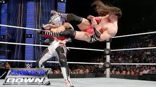 Kalisto vs Neville United States Championship Match SmackDown Jan 28 2016