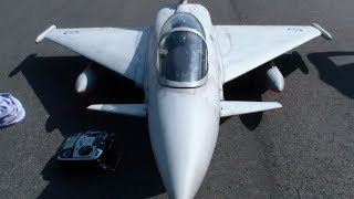 R/C Turbine Model Jet Eurofighter Typhoon very manoeuvrable