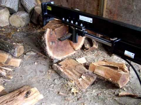 Bobcat Skid Steer >> Skid Steer Bobcat Log Splitter - YouTube