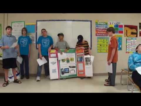 FIRST Lego League Project Presentation And Skit Rehearsal