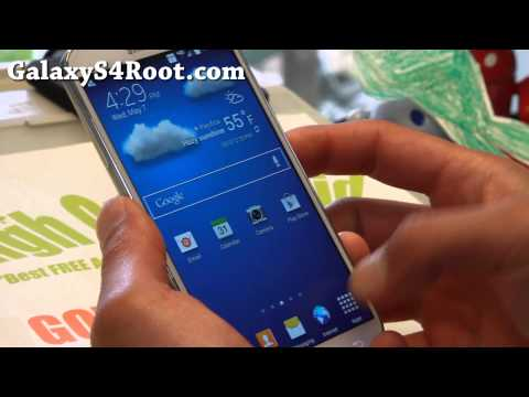 Stock Android 4.4.2 KitKat ROM NC5 + Root for Verizon Galaxy S4!