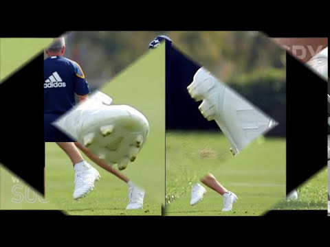 David Beckham Wearing New Predator Adipower