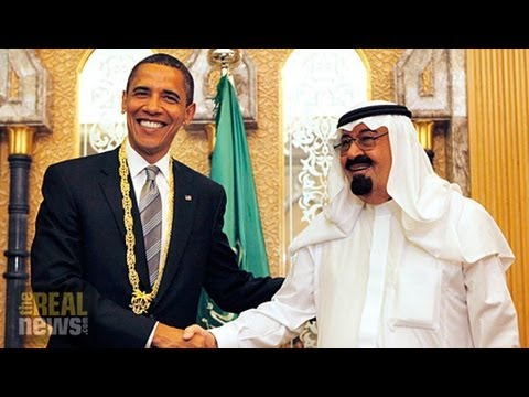 Toby Jones says the Saudis see the Arab awakening as an existential threat while the US sees it as something to be manipulated See more videos: http://therea...