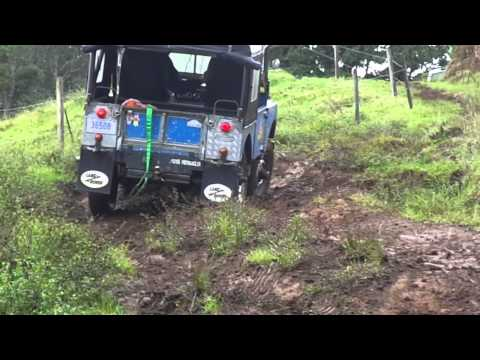 Series I green laning in Costa Rica