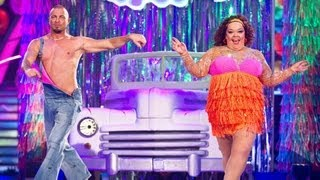 Lisa Riley & Robin Windsor Samba to 'Car Wash' - Strictly Come Dancing 2012 - Week 7 - BBC One