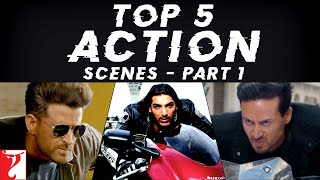Top 5 Action Scenes - Part 1 | Bike Chase Sequences | Hrithik, Tiger, Salman, Aamir, John, Abhishek
