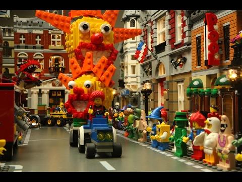 Carnaval optocht Lego