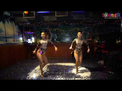 Mei Fujioka & Hiromi Kaneko Show | Salsa Caribe Party - Tokyo-Japan