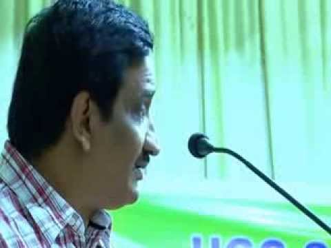 Dr Fasal Gafoor speaks at Kodungallur Hindi National Seminar Part II