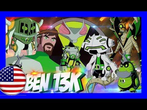 BEN 13K ENGLISH   ALL ALIENS  BIOMNITRIX   ALIEN FUSION