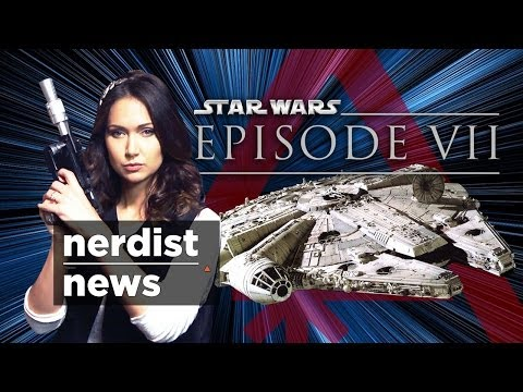Star Wars 7 Leaks, Guardians Of The Galaxy & Pokémon: Nerdist News W  Jessica Chobot video