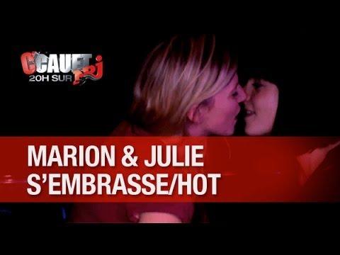 Record De Likes ! Marion Et Julie S'embrassent Sensuellement !!! - C'cauet Sur Nrj video