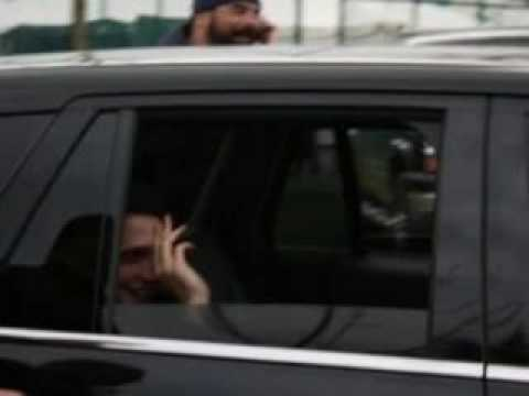 Rob, Nikki, and Kristen: Waving from Cars Leaving Vancouver Video
