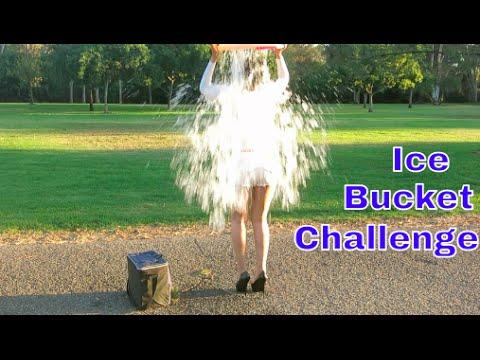 The Sexiest Ice Bucket Challenge In High Heels For Als Ever! video