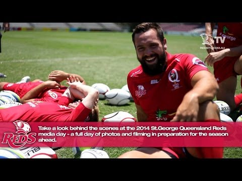 St.George Queensland Reds media day 2014