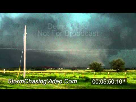 5/31/2013 El Reno, OK Tornado and Damage - B-Roll Stock Footage