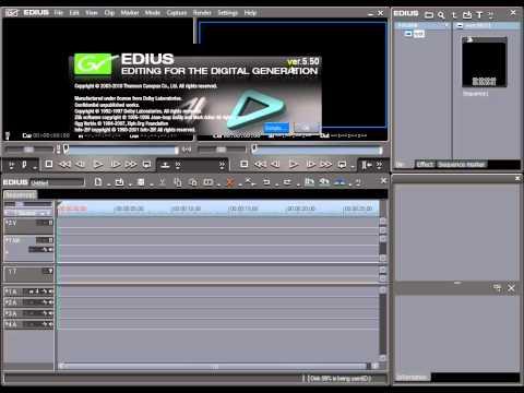 Установка обновления до версии Edius 5.5 | danilidi.ru