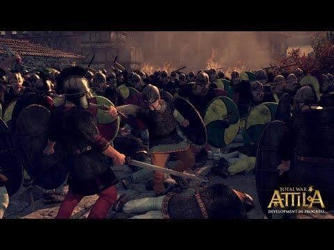 Total War Attila Стена стрел №3