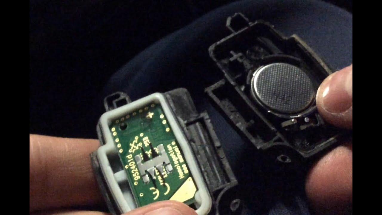 Замена батарейки в ключе Ford Focus - YouTube
