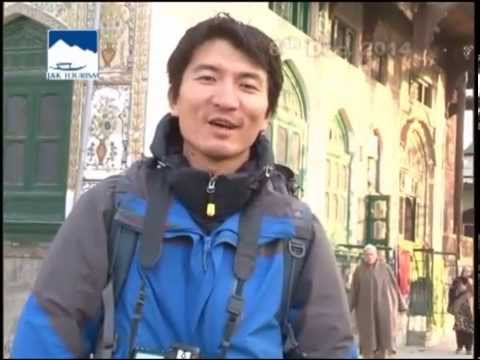 Andy from Shanghai China in Downtown Srinagar