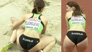 Nina Djordjevic 2015, post Marija Sestak? lovely Slovenian long jumper