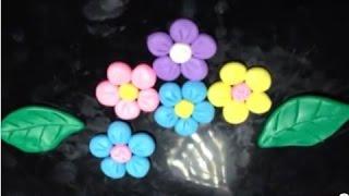 【Đất nặn Play-Doh 】 Đất nặn hoa 01 00020 vn