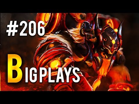 Dota 2 - Big Plays Moments - Ep. 206