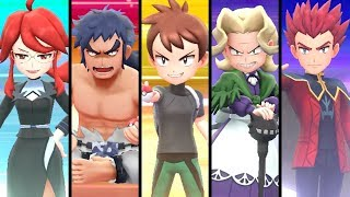 Pokémon Let's Go Pikachu & Eevee - Elite Four & Champion Rematch