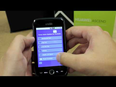 Huawei Ascend Review for Cricket Wireless