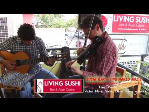 Cancion Venezuela en Living Sushi  HD 720p