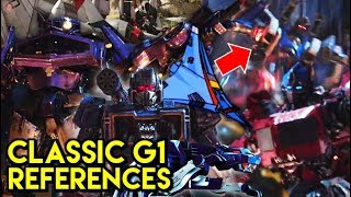 ALL Transformers G1 References: Bumblebee Trailer Analysis (Confirmed Characters)