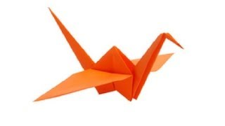 Paper Bird Origami - Easy Steps