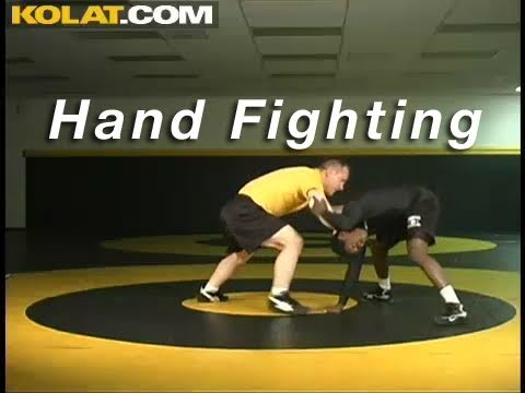 Hand Fighting Head Control KOLAT.COM Wrestling Techniques Moves Instruction Image 1