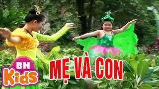 Mẹ Và Con ♫ Bé Anh Vi ♫♫ Nhạc Thiếu Nhi Vui Nhộn