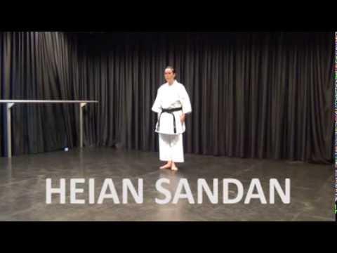 Kata: Heian Sandan - Online Karate Tutorial video