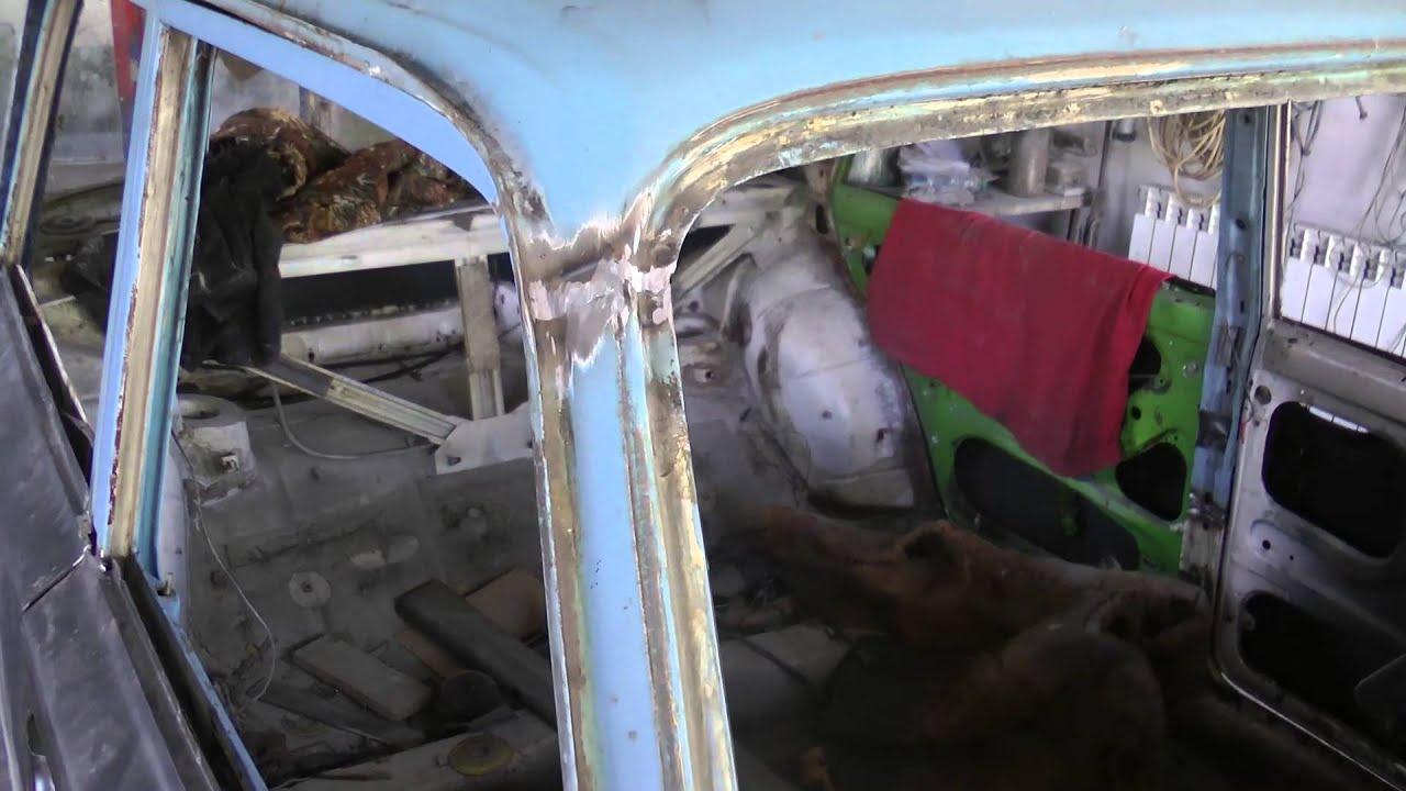 Ваз 2107 кузов свои руками ремонт