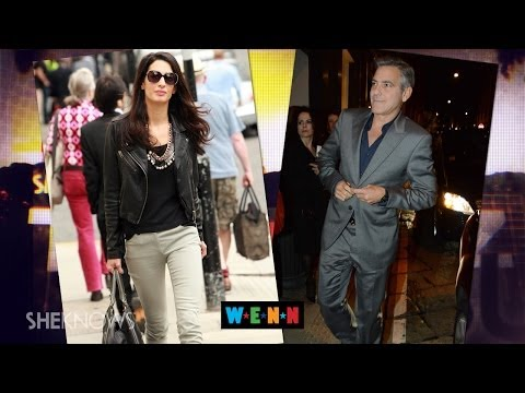 George Clooney Publicly Denies Amal Alamuddin's Mom Opposes Their Marriage - The Buzz
