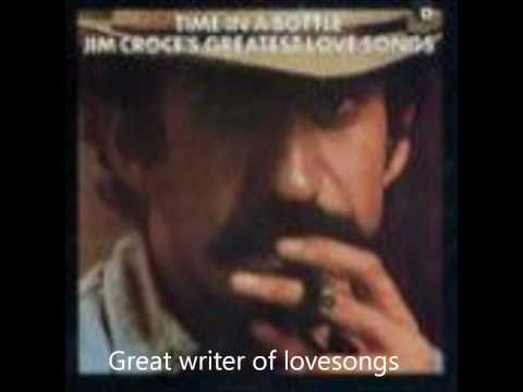 Jim Croce I'll have to say I love you in a song with lyrics