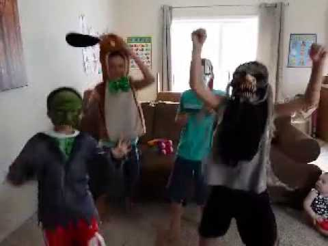 Lil sprouts Harlem Shake