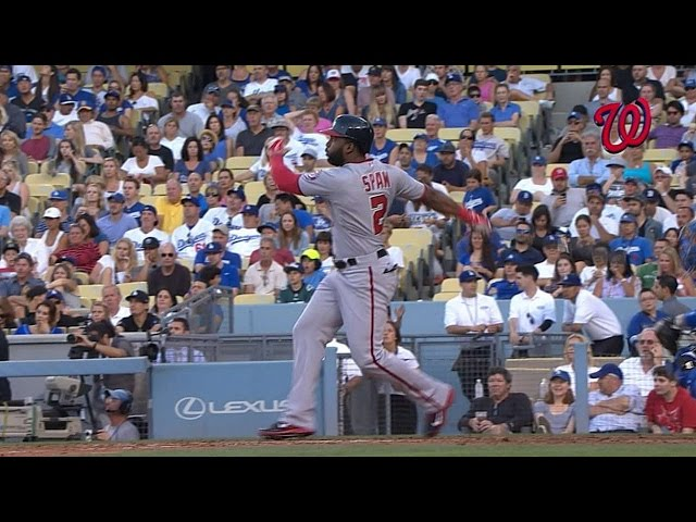 WSH@LAD: Span rips two homers in Nats' victory