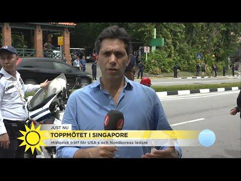 """Toppmötet i Singapore: """"I värsta fall kommer de att misslyckas helt.."""" - Nyhetsmorgon (TV4)"""