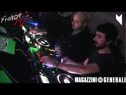 FRA909 Tv - LEON B2B NATHAN BARATO @  MUSIC ON - EAST END STUDIOS