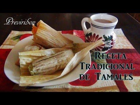 Tamales como hacer la masa (receta antigua) paso a paso *video 164*