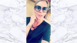 AMELIE NETEN EXCLUE des VACANCES DES ANGES 2 s'exprime à l'AEROPORT