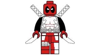 download lagu How To Draw Lego Deadpool - Marvel Superheroes - gratis