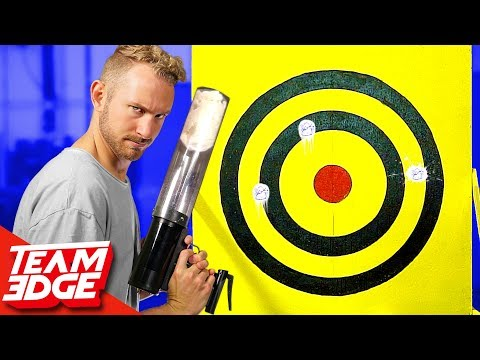 GIANT Spitball Challenge!!