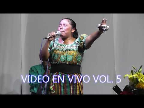 Solista Josefina  Tzoc Morales Video En Vivo Vol. 5 Coros