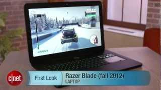 Razer Blade gaming laptop hands-on