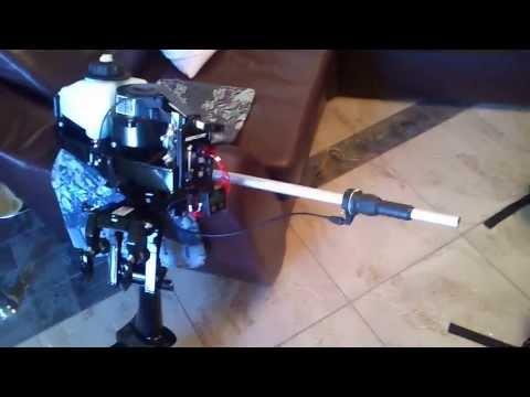 самодельный удлинитель румпеля лодочного мотора